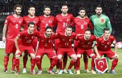 La Hongrie contre le 3:1 de la Turquie Photos libres de droits