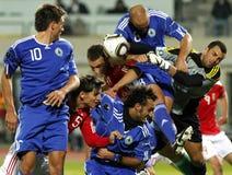 La Hongrie contre le Saint-Marin 8-0 Photographie stock