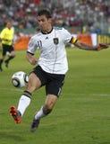 La Hongrie contre les parties de football amicales de l'Allemagne Images libres de droits