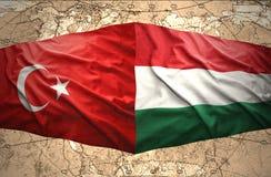 La Hongrie et la Turquie Image libre de droits
