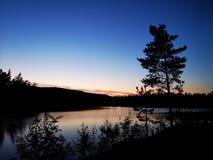 La hora oscura azul foto de archivo libre de regalías