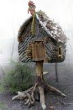 La hutte de la sorcière Photos libres de droits
