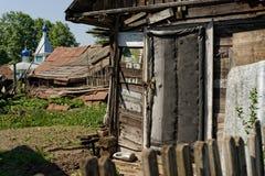La hutte de pauvre homme Photos libres de droits
