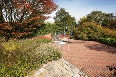 La idea de la decoración para su jardín n el Appeltern cultiva un huerto en la N Imagen de archivo libre de regalías