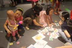 La identificación de la competencia de la imagen en el SHENZHEN Tai Koo Shing Commercial Center Imagen de archivo libre de regalías