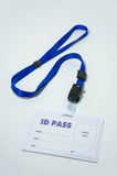 La identificación pasa, utilizado para exhibir la situación o la identidad del nombre Imagen de archivo libre de regalías