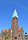 La iglesia adentro copenaghen Fotografía de archivo