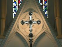 La iglesia altera Fotografía de archivo libre de regalías