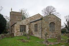 La iglesia Alveringham de St Mary fotos de archivo libres de regalías