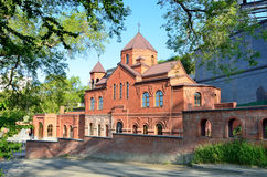 La iglesia apostólica armenia Surb Gevorg en Vladivostok Foto de archivo