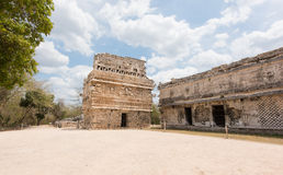 La Iglesia at the archaeological site of the ancient Mayan Ruins, Chichen Itza,Mexico Stock Image