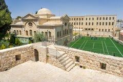 La iglesia armenia de los arcángeles santos en Jerusalén, Israel Fotos de archivo libres de regalías