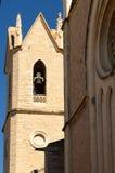 La iglesia Benissa de San Pedro Imagen de archivo libre de regalías