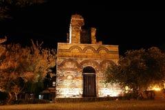 La iglesia bizantina vieja en Nessebar. Imagenes de archivo
