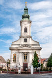 La iglesia católica griega de San Pedro y de Paul stock de ilustración
