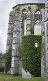 La iglesia cisterciense en Abbey Villers, Villers-la-Ville, Bélgica, ruinas viejas del monasterio Imagenes de archivo