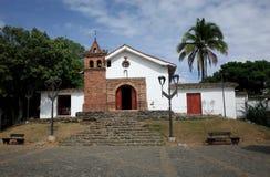 La Iglesia de圣安东尼奥,卡利 库存照片