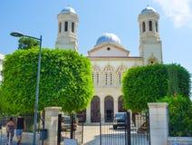 La iglesia de Ayia Napa fotos de archivo