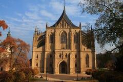 La iglesia de Barbara del santo Fotos de archivo