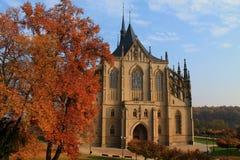 La iglesia de Barbara del santo Imágenes de archivo libres de regalías