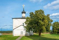 La iglesia de Boris y de Gleb, 1152, el año de construcción, Vl Fotos de archivo libres de regalías