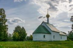 La iglesia de Boris y de Gleb, 1152, el año de construcción, Vl Imagenes de archivo