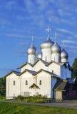 La iglesia de Boris y de Gleb, Veliky Novgorod, Rusia Fotos de archivo