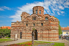 La iglesia de Cristo Pantocrator en Nessebar, Bulgaria. Fotos de archivo
