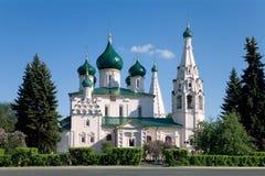 La iglesia de Iliay el profeta. Yaroslavl. Rusia Foto de archivo libre de regalías