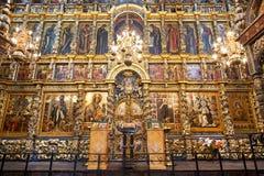 La iglesia de Iliay el profeta yaroslavl Rusia Foto de archivo libre de regalías