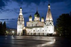 La iglesia de Iliay el profeta yaroslavl Rusia Fotos de archivo libres de regalías