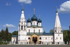 La iglesia de Iliay el profeta yaroslavl Rusia Foto de archivo