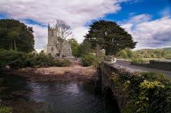 La iglesia de Irlanda de San Jaime, Durrus imagen de archivo libre de regalías