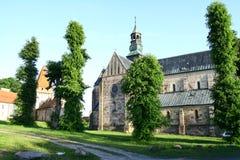 La iglesia de la abadía en Sulejow Imagenes de archivo