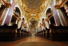 La iglesia de la jesuita, Viena foto de archivo libre de regalías