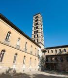 La iglesia de la paz en el parque de Sanssouci imagen de archivo libre de regalías