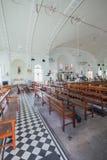 La iglesia de la suposición fue fundada en 1786, él está situada en la calle de Farquhar, George Town Foto de archivo