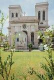 La iglesia de la suposición fue fundada en 1786, él está situada en la calle de Farquhar, George Town Imagen de archivo