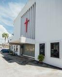 La iglesia de la suposición fue fundada en 1786, él está situada en la calle de Farquhar, George Town Fotografía de archivo libre de regalías