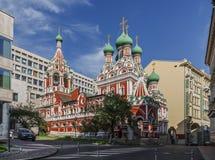 La iglesia de la trinidad santa en Nikitniki fotografía de archivo libre de regalías
