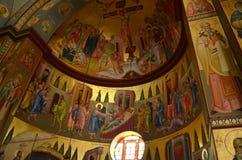 La iglesia de los siete apóstoles Imagen de archivo
