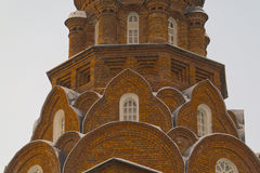 La iglesia de los viejos creyentes de la trinidad santa en Vladimir Fotos de archivo libres de regalías
