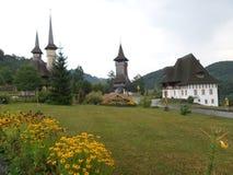 La iglesia de madera de Botiza Imágenes de archivo libres de regalías