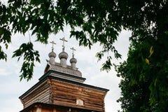 La iglesia de madera del siglo XVII imágenes de archivo libres de regalías