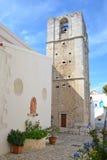 La iglesia de Madre di Sant'Elia en Peschici Fotos de archivo libres de regalías