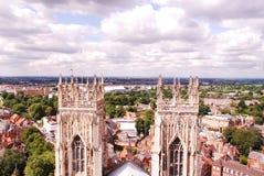 La iglesia de monasterio de York, es la catedral de York, Inglaterra, imagen de archivo