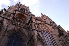 La iglesia de monasterio de York, es la catedral de York, Inglaterra, imágenes de archivo libres de regalías