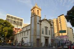 La iglesia de Nossa Senhora hace a Carmen DA Lapa Fotografía de archivo