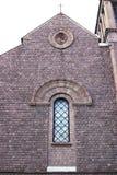 La iglesia de nuestra señora de Lourdes Imagenes de archivo