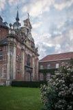 La iglesia de nuestra señora de la fiebre Kapel Onze Lievre Vrouw Ter Koorts en Lovaina imagen de archivo libre de regalías